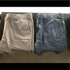 2 Pair of Tommy Hilfiger Shorts - Men's Size 42
